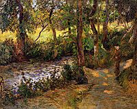 Boy by the Water, 1885, gauguin