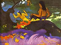 By the Sea, 1892, gauguin