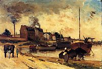 Cail Factories and Quai of Grenelle, 1875, gauguin