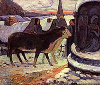 Christmas night, 1894, gauguin