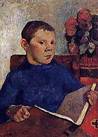 Clovis, 1886, gauguin