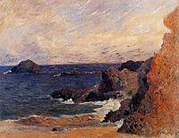 Coastal landscape, 1886, gauguin