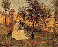 Conversation, 1885, gauguin