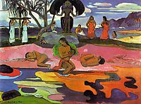 Day of the Gods, 1894, gauguin
