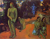 Delectable Waters, 1898, gauguin