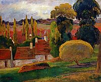 Farm in Brittany, 1894, gauguin