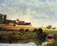 The farm in Grue , 1883, gauguin