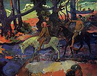 Flight, 1901, gauguin