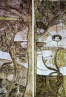 Floral and vegetable motifs, 1893, gauguin