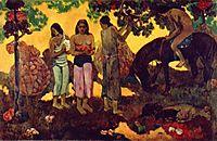 The fruit harvest, 1899, gauguin