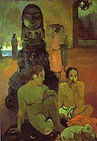 The Great Buddha, 1899, gauguin