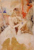 Here we make love, c.1893, gauguin