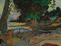 The hibiskus tree, 1892, gauguin