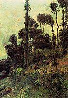 Hillside, 1884, gauguin