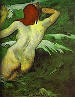In the Waves, 1889, gauguin