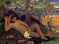 The King-s Wife, 1896, gauguin