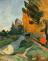 Les Alyscamps, 1888, gauguin