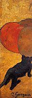 A little cat, 1888, gauguin