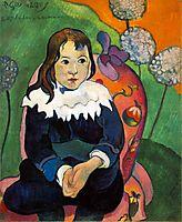 M. Loulou, 1890, gauguin