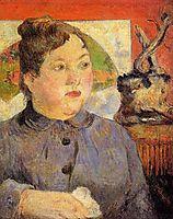 Madame Alexandre Kohler, 1887, gauguin