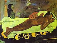 Manao Tupapau or spirit of the Dead Watching, 1892, gauguin