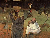 Mango pickers (Martinique), 1887, gauguin