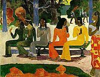 Market Day, 1892, gauguin
