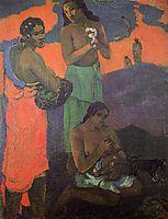 Maternity (Three Women on the Seashore), 1899, gauguin