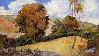 Meadow in Martinique, 1887, gauguin