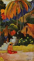 The moment of truth II, 1893, gauguin