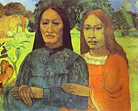 Mother and Daughter, c.1891, gauguin
