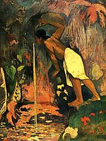 Mysterious Water, 1893, gauguin