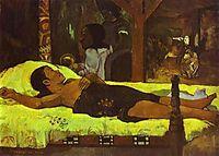 Nativity, 1896, gauguin