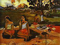 Nave Nave Moe (sacred spring), 1894, gauguin