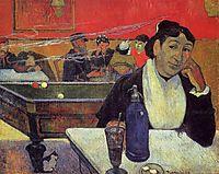 Night café, Arles, 1888, gauguin