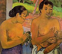 The Offering, 1902, gauguin
