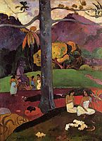 Olden times, 1892, gauguin