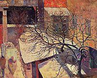 Paris in the snow, 1894, gauguin