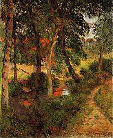 Pere Jean-s Path, 1885, gauguin