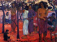 Perfect days, 1896, gauguin