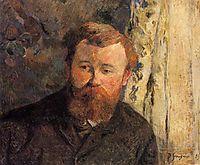 Portrait of Achille Granchi Taylor, 1885, gauguin
