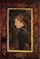 Portrait of Aline, 1884, gauguin