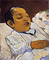 Portrait of Atiti, c.1891, gauguin