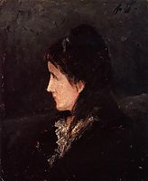 Portrait of Ingeborg Thaulow, 1877, gauguin