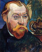 Portrait of Louis Roy, 1893, gauguin