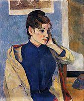 Portrait of Madelaine Bernard, 1888, gauguin