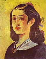 Portrait of a mother, 1894, gauguin
