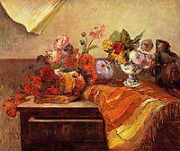 Pots and Boquets, 1886, gauguin