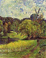The Queen-s Mill, 1881, gauguin