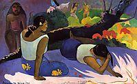 Reclining Tahitian Women, 1894, gauguin